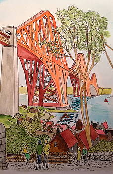 The Forth Rail Bridge by Ralph Taylor