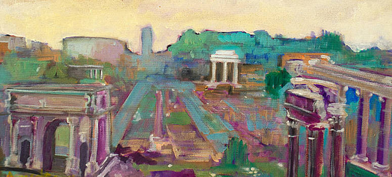 The Forum Romanum by Kurt Hausmann