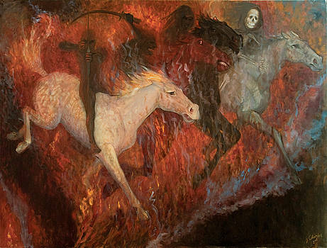 The Four Horsemen of the Apocalypse by Joan Columbus