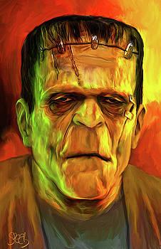 The Frankenstein Monster by Mark Spears