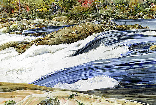 The French River by William Band