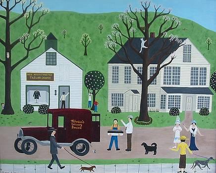 The Friendliest Man In Town by Susan Houghton Debus