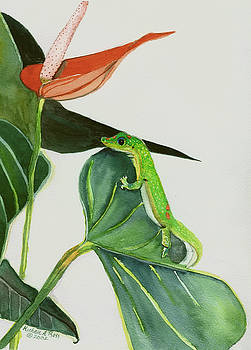 The Friendly Gecko by Michele Ross
