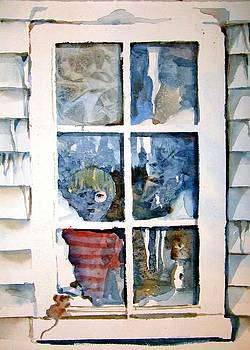 The Frosty Peep Hole by Mindy Newman