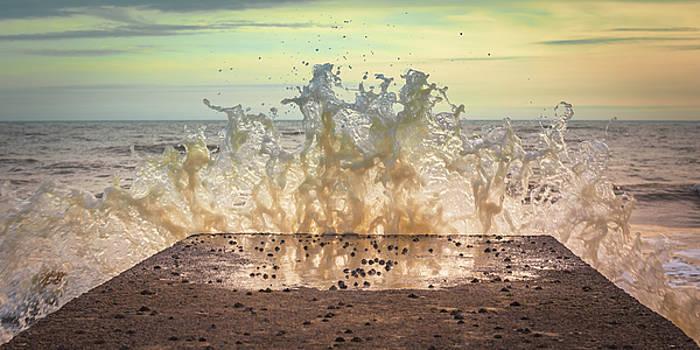 The fury of the sea by Marius Comanescu