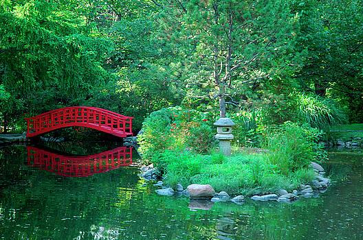 The Garden Bridge by Rein Nomm
