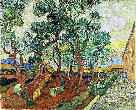 Van Gogh - The Garden Of St. Paul