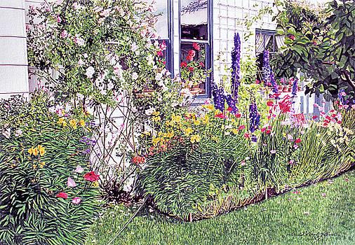 The Garden On Niagara Street by David Lloyd Glover