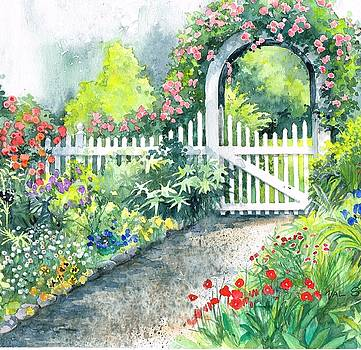 The Garden Path by Val Stokes