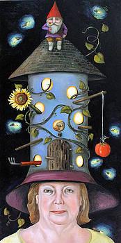 Leah Saulnier The Painting Maniac - The Gardener