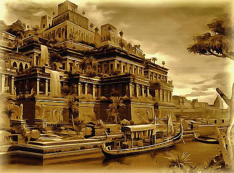 The Gardens of Babylon by Mario Carini