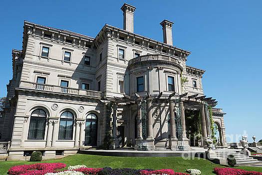 The Gardens The Breakers Vanderbilt Mansion Newport Rhode Island by Wayne Moran