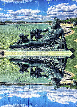 The Garonne Bronze Statue Versailles Paris France Sculpture by Beverly Claire Kaiya