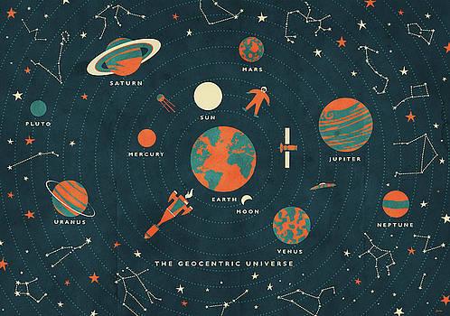 The Geocentric Universe by Daviz Industries