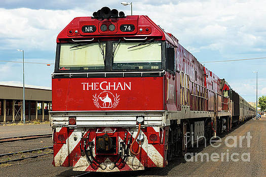 The Ghan by Andrew Michael