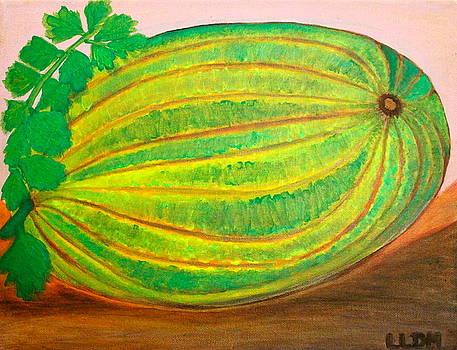 The Giant Melon by Lorna Maza