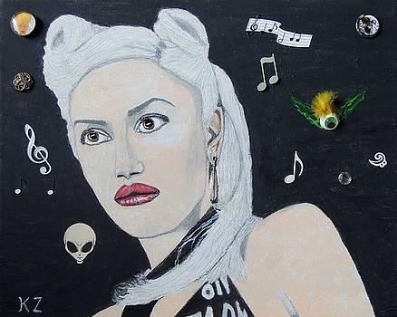 The girl from Orange county.Gwen Stefani. by Ken Zabel