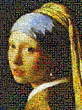 The Girl With The Pearl Earring by Gilberto Viciedo