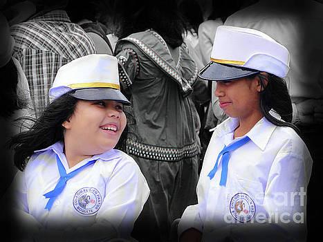 The Girls In The Band, Boquete, Panama by Al Bourassa