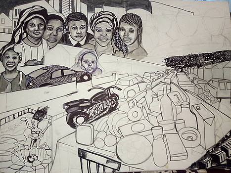 The Glad Tidings Of Saint Davids Road - Northampton by Mudiama Kammoh