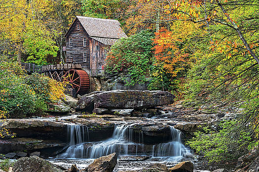 The Glade Creek Grist Mill In West Virginia by Jim Vallee