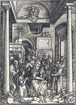 Albrecht Durer -  The Glorification of the Virgin