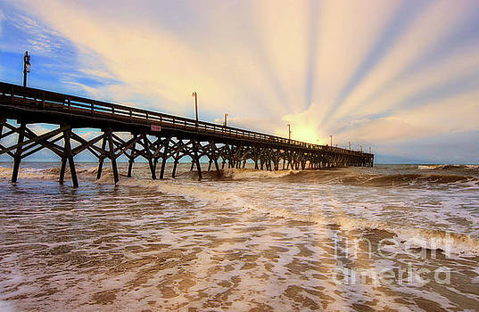 The Glow Of Sunrise by Kathy Baccari