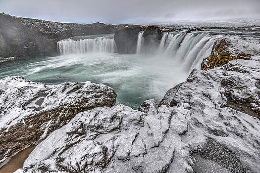 Matt Swinden - The Godafoss Falls in Winter