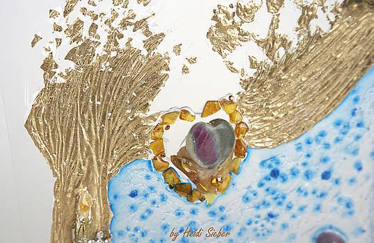 Heidi Sieber - The golden flow of love detail