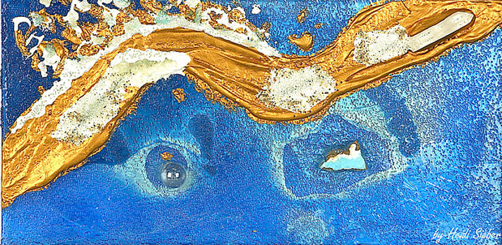 Heidi Sieber - The golden flow within the ocean of love