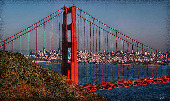The Golden Gate by Hanny Heim