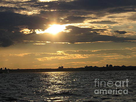 The Golden Hour Over the Bay by Dora Sofia Caputo Photographic Art and Design