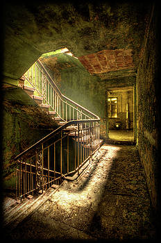 The Golden Stairway #2 by Steven Coppenbarger
