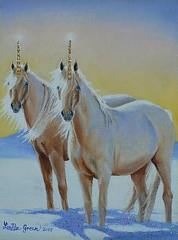 The Golden Unicorns by Louise Green