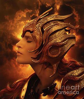 The Golden Warrior by Babette Van den Berg