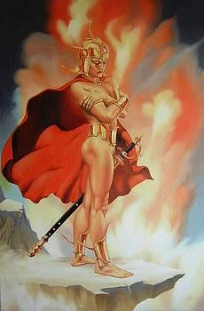 The Golden Warrior by Dmitry Dmitriev
