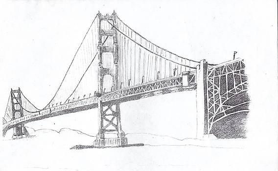 The GoldenGate Bridge by Tonia Darling