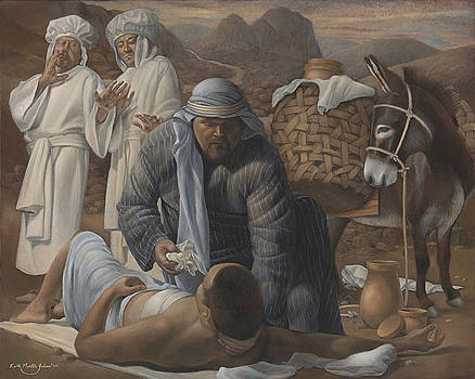 The Good Samaritan  by Keith Martin Johns