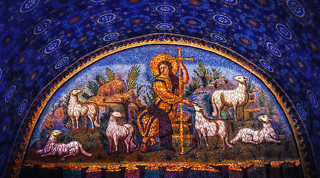 The Good Shepherd by Nigel Fletcher-Jones