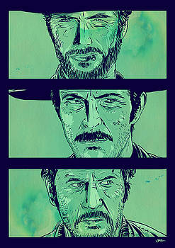 The Good the Bad and the Ugly by Giuseppe Cristiano