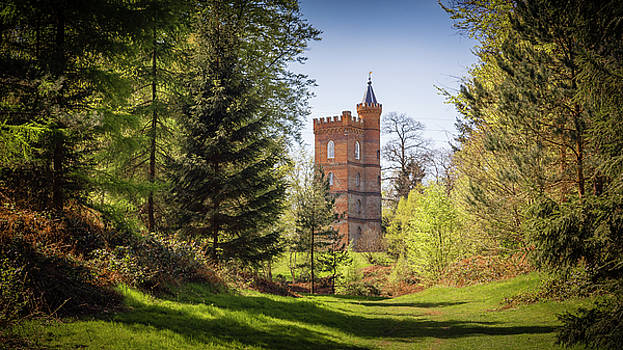The Gothic Tower - Painshill Park by Kelvin Trundle