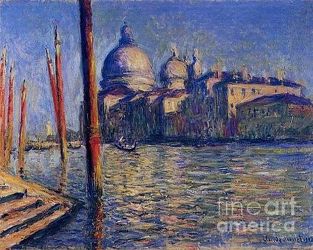 Monet - The Grand Canal and Santa Maria