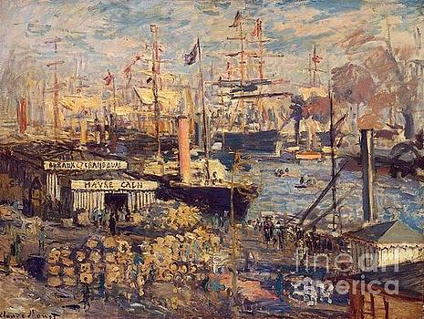 Monet - The Grand Dock At Le Havre