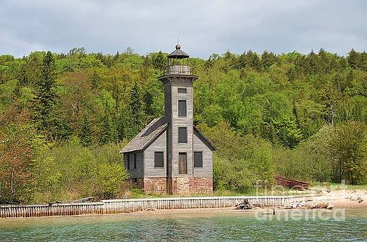 Terri Gostola - The Grand Island East Channel Lighthouse in Pure Michigan