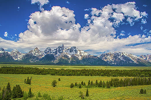 The Grand Tetons by Kyle Field