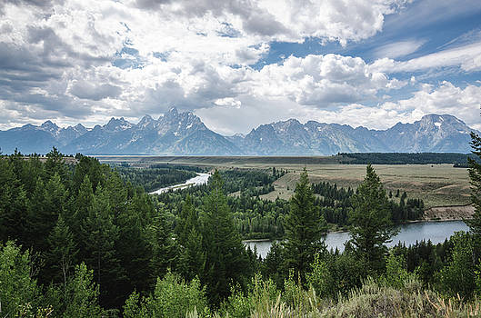 The Grand Tetons by Margaret Pitcher