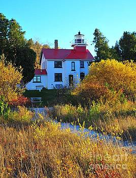 Terri Gostola - The Grand Traverse Lighthouse in Michigan