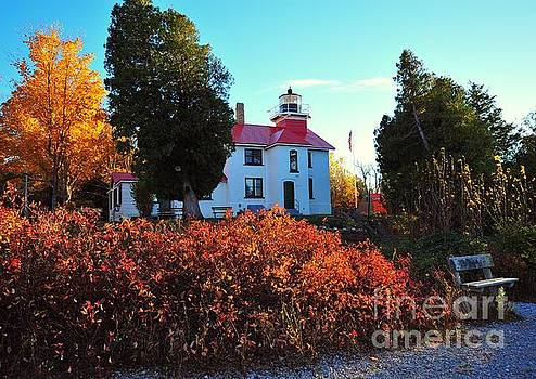 Terri Gostola - The Grand Traverse Lighthouse in Pure Michigan