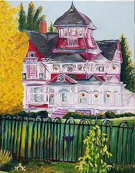 The Grand Victorian Richardi House  by Lettie Atkins