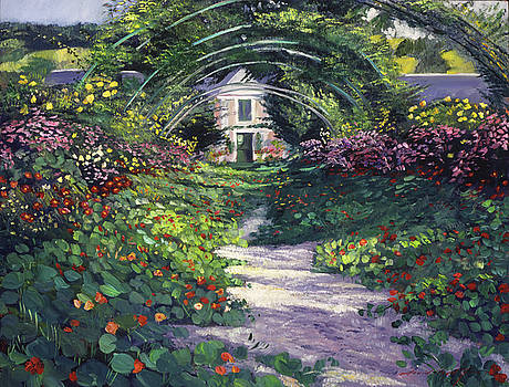 The Grande Allee Giverny by David Lloyd Glover